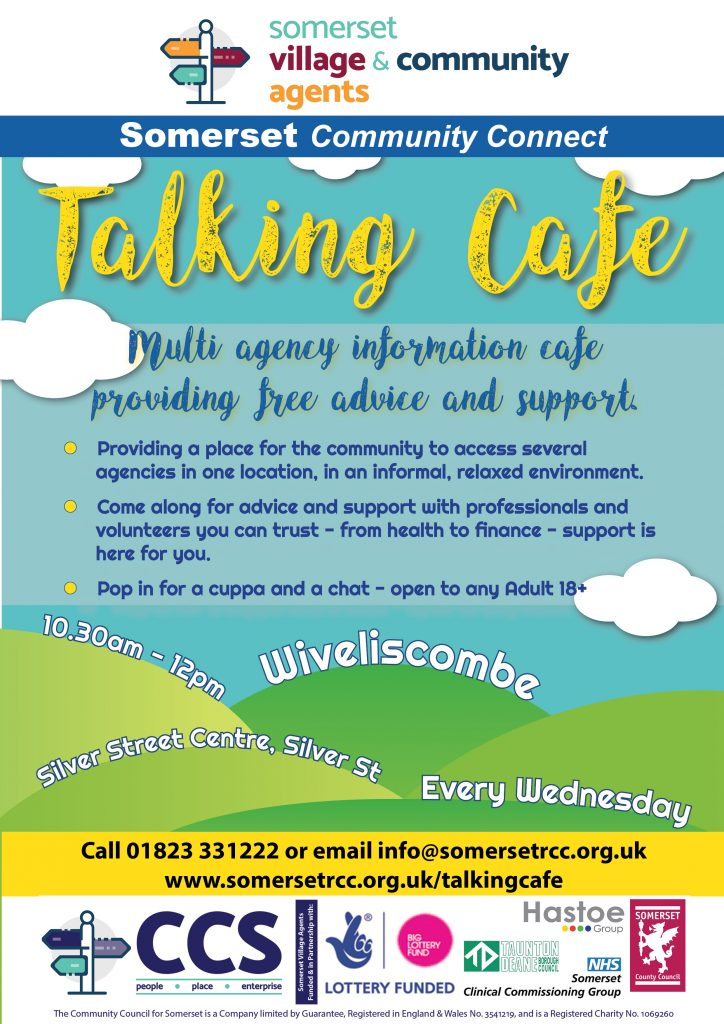 Coffee Pot and Talking Cafe – Wiveliscombe Evangelical Church